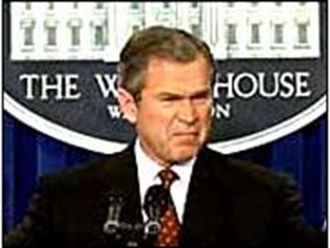 Bush'a karşı fıkra bombardımanı